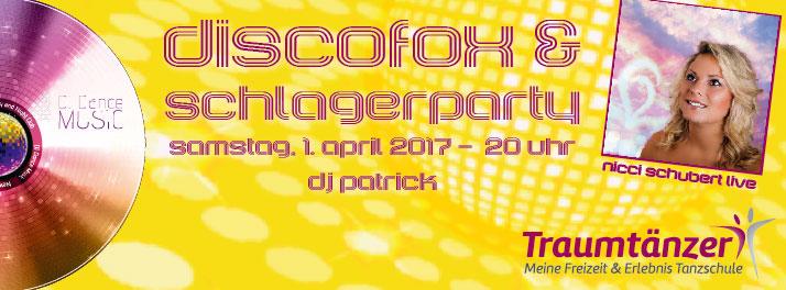 Schlagerparty mit Nicci Schubert Live!