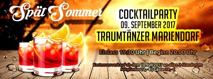 Spät Sommer Cocktail - Party