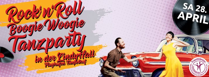 Rock 'n' Roll & Boogie Woogie Tanzparty