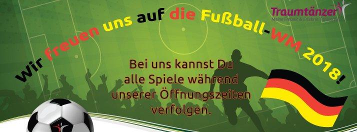 Fussball WM 2018 im Traumtänzer - Tanzschule Traumtänzer