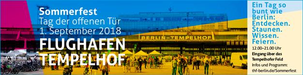 Sommerfest Flughafen Tempelhof