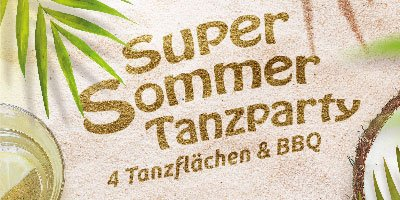 Super-Sommer-Tanzparty